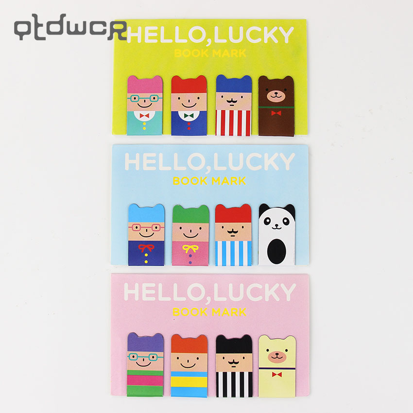 4PCS/1 Set Cute Stationery HELLO Magnetic Bookmarks School Office Supplies Student Prize Book Mark Clips рюкзак dakine dk trek 26l stereo collab 8130083