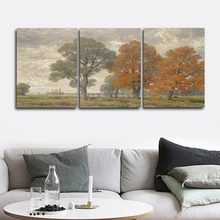 Trees Scenery Wall Pictures Poster Print Canvas Painting Calligraphy Decor for Living Room Bedroom Home Decor Frameless недорого