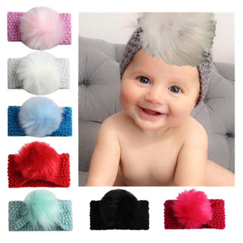 Baby Hat Headband Flower-Beauty Girl Hair Band Toddler Cap Headwear