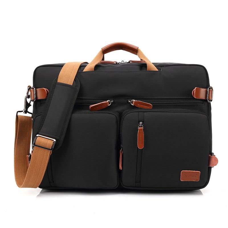 15 6 17 3 Inch Notebook Convertible Backpack Messenger Bag Shoulder Bag Laptop Case Handbag Business