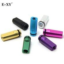 E XY Flat Metal Drip Tip 510 Mouthpiece For Electronic Cigarette 510 interface Atomizer vape Tank