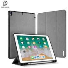 DUX DUCIS умный чехол из искусственной кожи для iPad air 3 защитный чехол-подставка для iPad air 3 10,5 ''планшет с карандашом