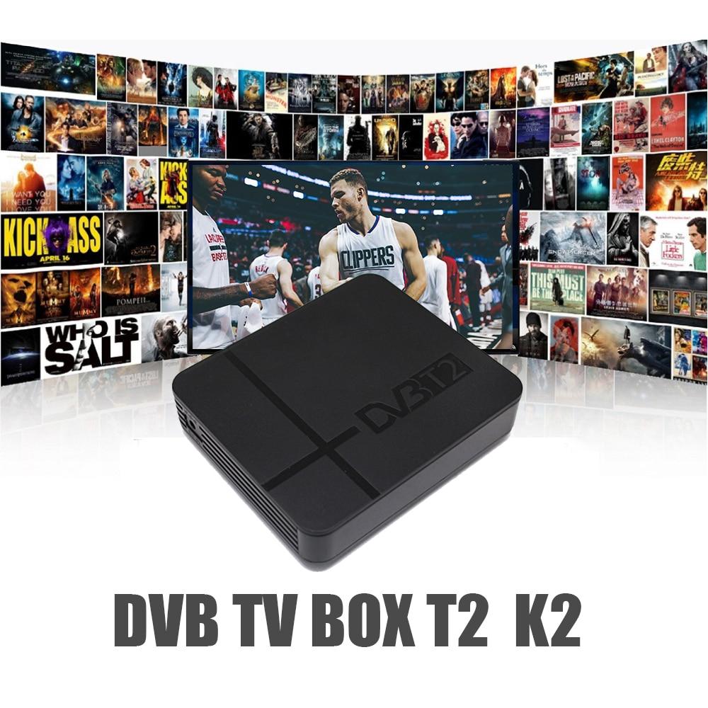 Vmade MPEG-4 DVB-T2 Full HD 1080 P Receptor Digital Terrestre DVB-T Sintonizador de TV A Receber Apoio 3D interface Mini Set Top caixa