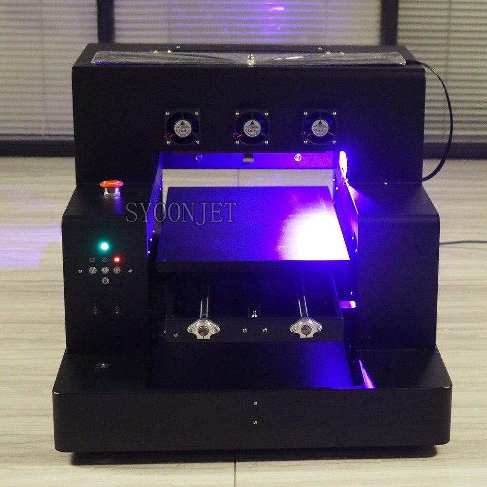 Максимальный 160 мм Диаметр A3 УФ принтер 33*50 см модифицированный от epson L1800