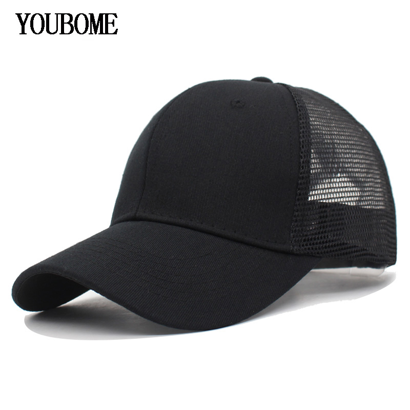 Eric Carl Summer Breathable Mesh Baseball Cap Men Women Sport Hats Casual Ajustable Unisex Solid Hats Baseball caps