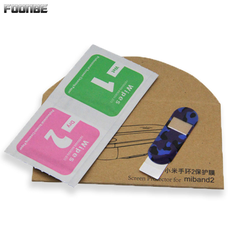 FOONBE Protector Film For Xiaomi Mi Band 2 Anti explosion Screen Protective Film For Miband 2