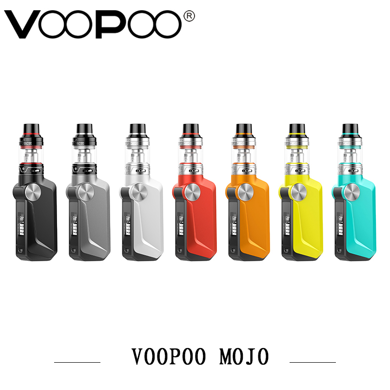 Original Electronic Cigarette Kit Voopoo MOJO TC 88W Box Mod Kit 2600mah Build in Battery 0