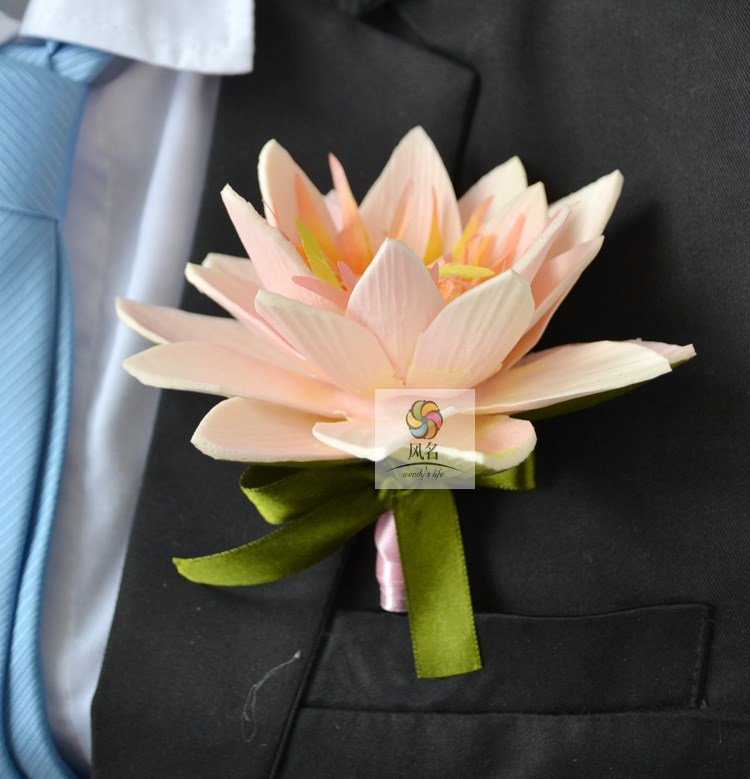 compare prices on lotus flower wedding online shopping/buy low, Natural flower