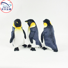 2016 Hot penguin plush toy 35cm height grey color soft penguin for kid gift toy