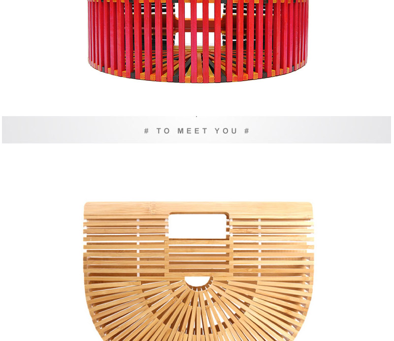 Women Bamboo Bag Summer Beach Bags For Women Woven Hollow Out Bamboo Handbag Lady Wood Clutch Bags Handmade Handbags Bolso Bambu_07