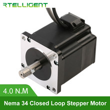 Factory Outlet Nema 34 86A4EC 4.0N.M 6.0A 2 Phase Hybird CNC Closed Loop Stepper Motor Easy Servo Motor Step-servo with Encoder