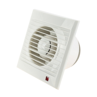 220 240V 50Hz Mini Exhaust Fan Wall Window Exhaust Fan Bathroom Kitchen Toilets Ventilation Fans Windows