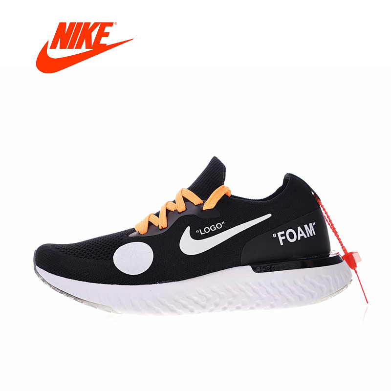 New Arrival Authentic Classic NIKE Off white xEpic Mens Running Shoes Sneakers Comfortable Breathable Outdoor Athletic nike men s indee high shoes athletic sneakers leather white