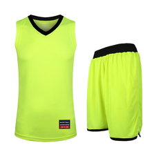 (2 pieces/lot) High Quality Basketball Jerseys Men's SportsWear Suit Fitness Shorts Sleeveless Vest Sports Sets Plus size