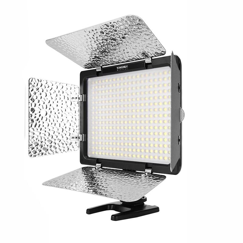 Yongnuo YN300 III YN-300 III 3200k-5500K CRI95 Camera Photo LED Video Light Optional with AC Power Adapter + Battery KIT 4