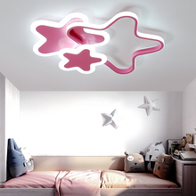 LICAN Modern Led Ceiling Lights For Living Room Bedroom 110V 220V lamparas de techo Modern Led Star Ceiling Lamp for home недорого