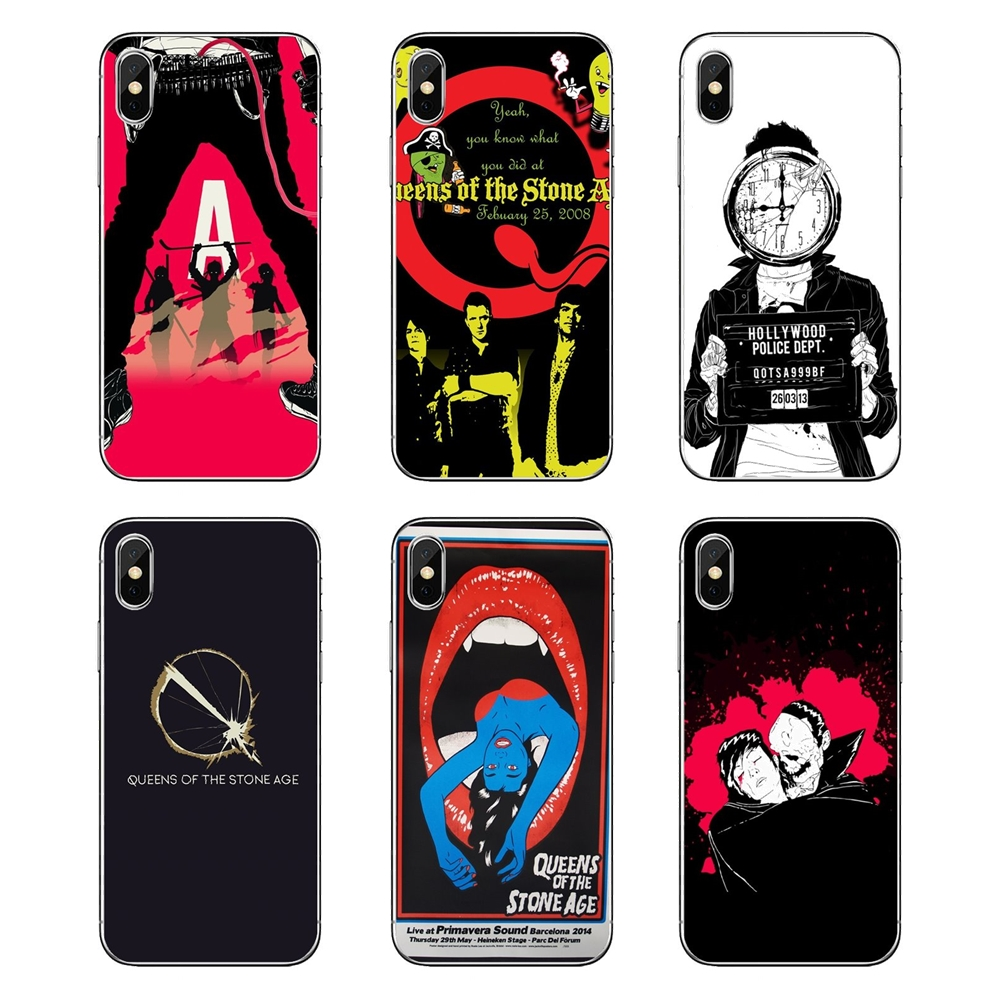 Queens Of The Stone Age Wallpaper Transparent Soft Bag Case For