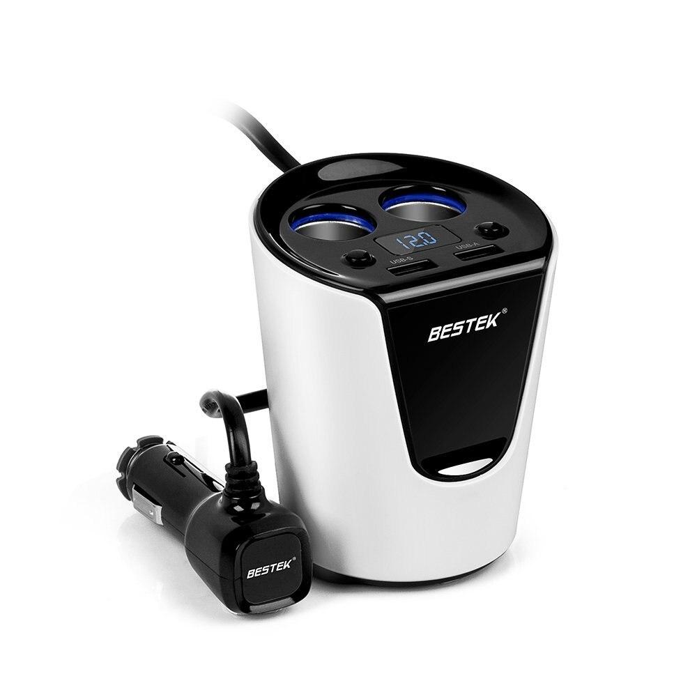 5v 3 1a cup dual car cigarette lighter usb car charger led. Black Bedroom Furniture Sets. Home Design Ideas