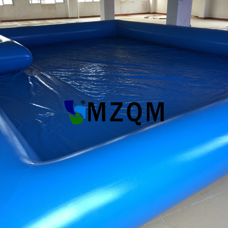 MZQM 8x6m Strong Inflatable Pool Rental, Inflatable Swimming Pool, Inflatable Water Game, Piscine Gonfiable Pool Fast Delivery commercial sea inflatable blue water slide with pool and arch for kids
