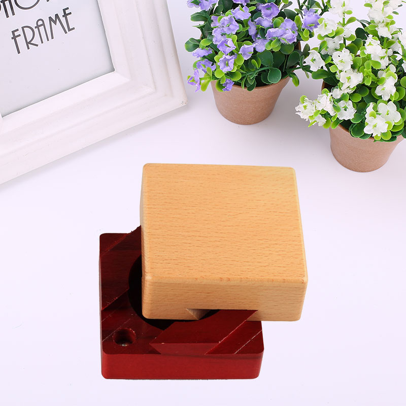 Wooden Intelligence Toys Kids Puzzle Box Unlock Brain Develop Relaxation