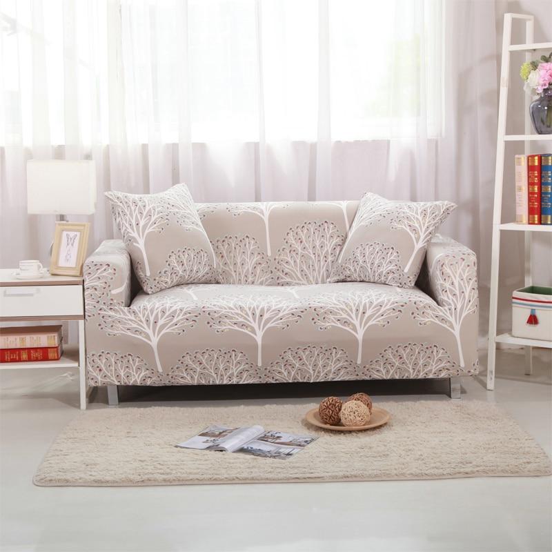 Elastic Spandex Printed Sofa Covers Slipcovers Cheap