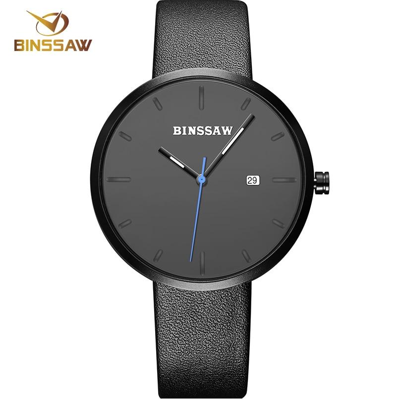 BINSSAW 2017 Luksusowa marka Moda Damska Zegarek kwarcowy kobiety - Męskie zegarki - Zdjęcie 4