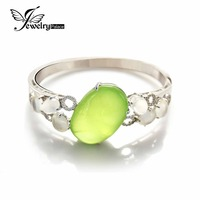 37.2ct Luxury Oval Prehnite Moonstone Bangles Solid 925 Sterling Silver Fabulous Women Fine Jewelry Never Be Oxided & Tarnished