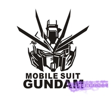Anime Cartoon Car Sticker Mobile Suit GUNDAM Vinyl Wall Stickers Decal Decor Home Decoration car sticker japanese cartoon fans seed gundam raiser vinyl wall stickers decal decor home decoration