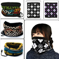 3-in-1 Bicycle Neck Bandanas Muffler High Elasticity Scarf Cap Headband Men Women Unisex 48 Color