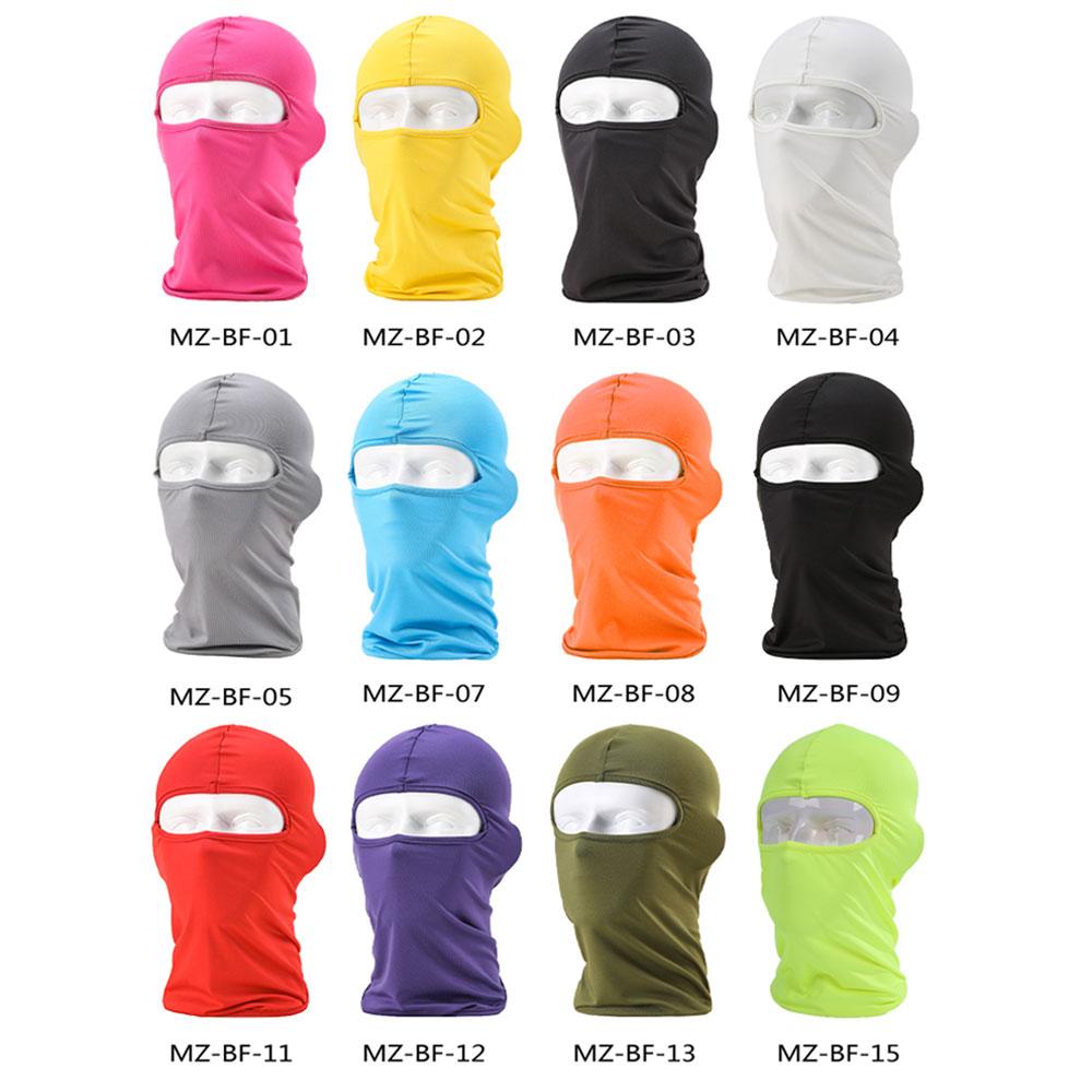HEROBIKER Balaclava Motorrad Gesicht Maske Sommer Atmungs Volle Gesicht Maske Sonnenschutz Helm Kappe Hut Neck Volle Gesicht Maske