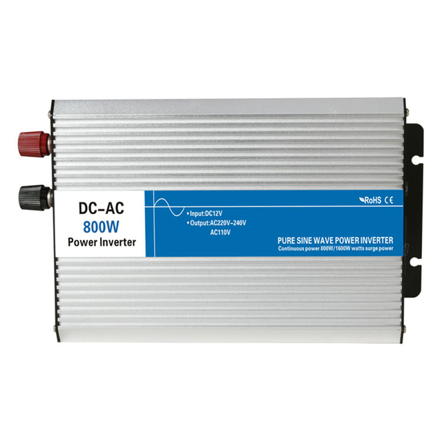 US $97 0 |800w pure sine wave inverter 12V/24V/48V to 110V/220V tronic  power inverter circuits off grid tie inverter cheap 12 24 48 V volt-in