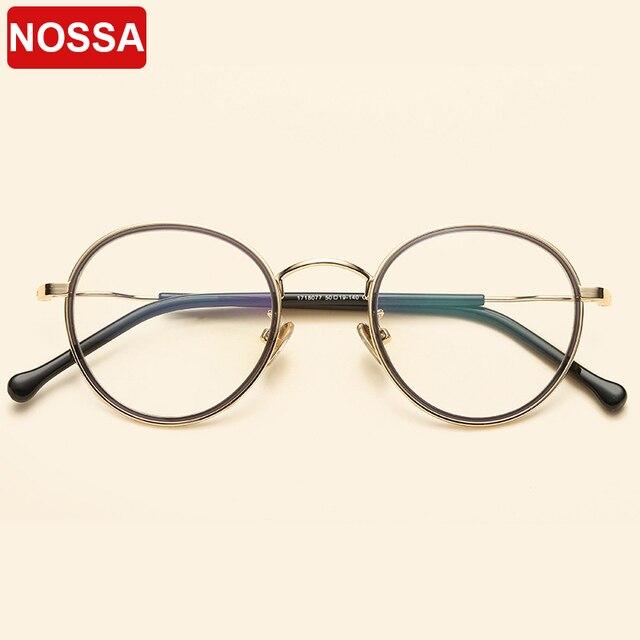 2018 baru kartu lingkaran logam kacamata bulat bingkai seni kecil segar  tipis tepi bingkai kacamata pria b12b2e5200