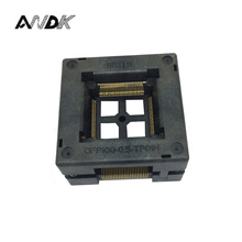 TQFP100 FQFP100 LQFP100  Open Top Socket OTQ 100 0.5 09 Pin Pitch 0.5mm IC Body Size 14x14mm Burn in Test Adapter