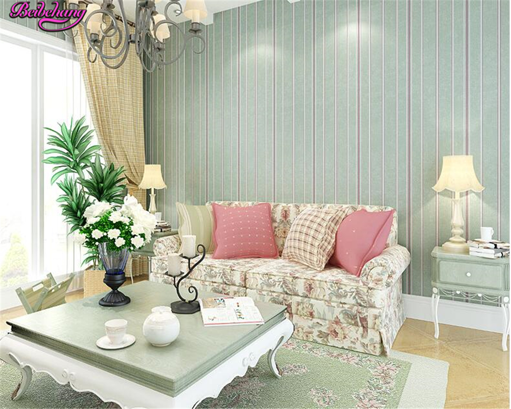 beibehang Stripe 3d wallpaper bedroom non woven wall paper living room TV backdrop full wallpaper for walls 3 d papel de parede