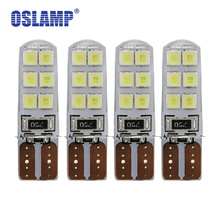Oslamp 4pcs T10 Canbus W5W 194 158 168 Led 2835 SMD Led Light Bulbs Wh