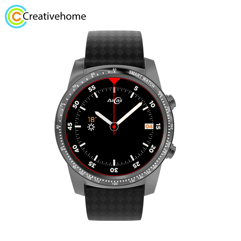 Allcall W1 Waterproof 3G GPS Smart Watch Phone Sport Heart Rate Monitor 1.39'' AMOLED Android 5.1 MTK6580 Quad Core 2G 16G jrgk kw99 3g smartwatch phone android 1 39 mtk6580 quad core heart rate monitor pedometer gps smart watch for mens pk kw88