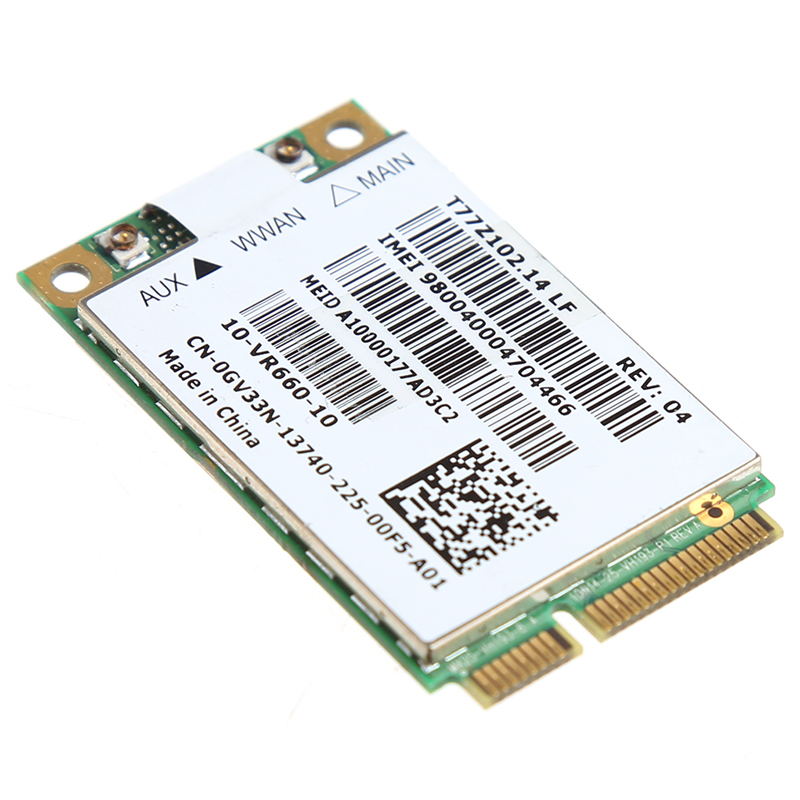 Gobi2000 Mobile Broadband Wireless 3G WWAN Network Card For Dell 5620 0GV33N
