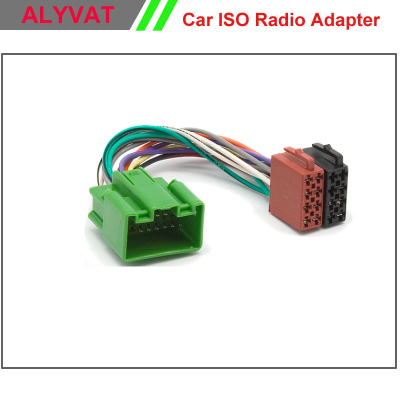 Free Shipping font b Car b font DVD font b ISO b font Radio Adapter font volvo s40 wiring harness adapter radio volvo wiring diagrams for dave barton volvo wiring harness at suagrazia.org