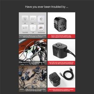Image 4 - Đá Đa Năng Sạc USB Cho EU Mỹ Anh Âu, USB Adapter Cắm Dành Cho iPhone Samsung Huawei Xiaomi PD Sạc Nhanh Cắm Du Lịch