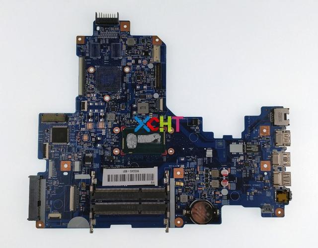 XCHT pour HP NoteBook 17 17 X Series 905545 601 15287 1 448.08C01.0011 UMA i3 6100U carte mère dordinateur portable testé et fonctionnel parfait