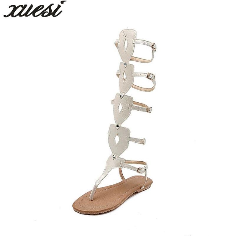 Femme Cuir D'été Coins Sandales Plate forme rose Mujer Femmes Taille Sandale 34 2018 Zapatos 52 blanc En Chaussure Noir Gladiateur wOnxndY