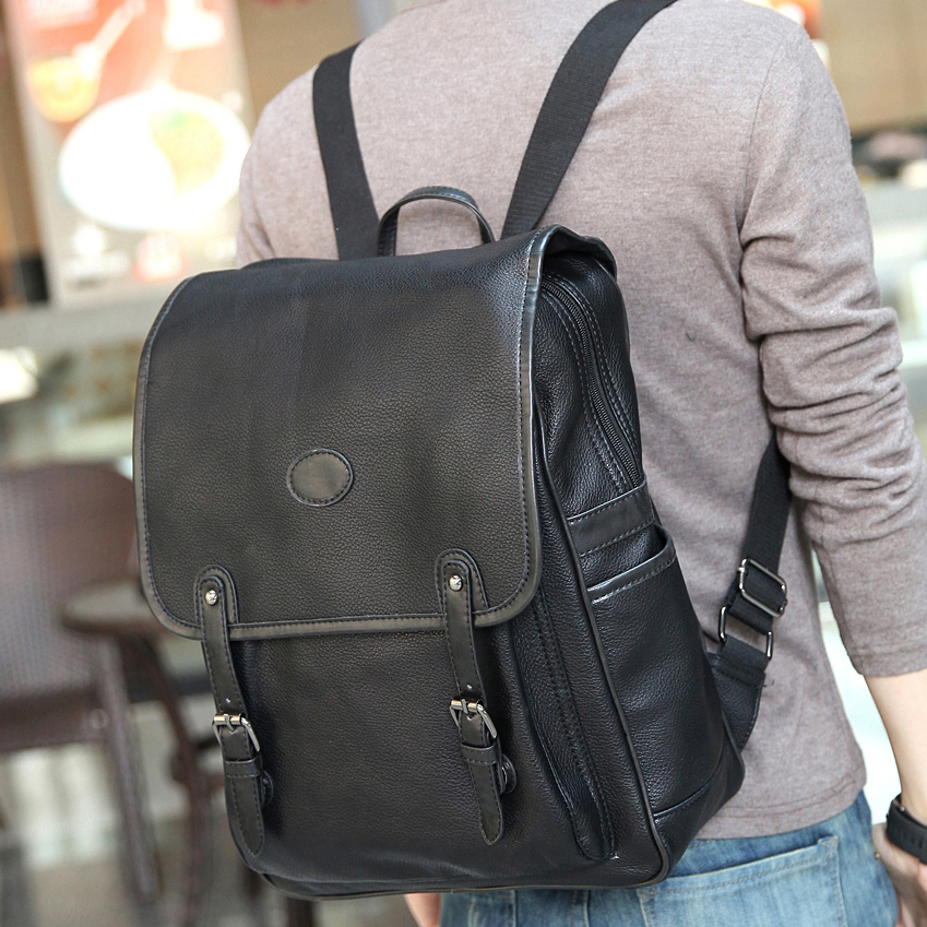 High Quality Leather Backpack Men Promotion-Shop for High Quality ...