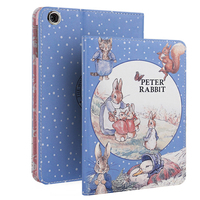 For IPad Air Case Lovely Peter Rabbit PU Leather Ultra Slim Stand Cover For Funda IPad