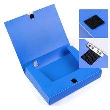 A4 портативная коробка для файлов и документов 3,5 см/5,5 см сумка для хранения файлов Папка легкий бизнес Органайзер коробка для файлов