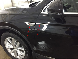 Image 3 - Badge autocollant original pour VW Tiguan mk2 4 mouvements 4x4, ailes latérales de porte, garniture autocollant, 2018, 2019, 2020