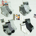 Free shipping ( 12 pairs/lot ) 100% cotton Baby socks rubber slip-resistant floor socks small kid's socks 1--2yearsatws0010