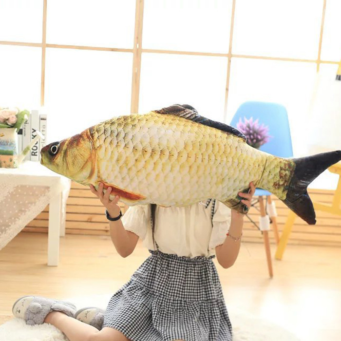 New Creative Hand Cushion Staffed Soft Animal Fish Plush Toys Pillow Creative Sofa Pillow Cushion Kids Toy Christmas Gifts BS