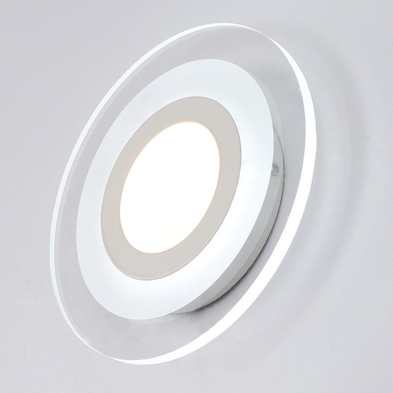 Naujos mados vadovaujamos sieninės lempos, akrilo liemenėlė, 10v - Vidinis apšvietimas - Nuotrauka 4