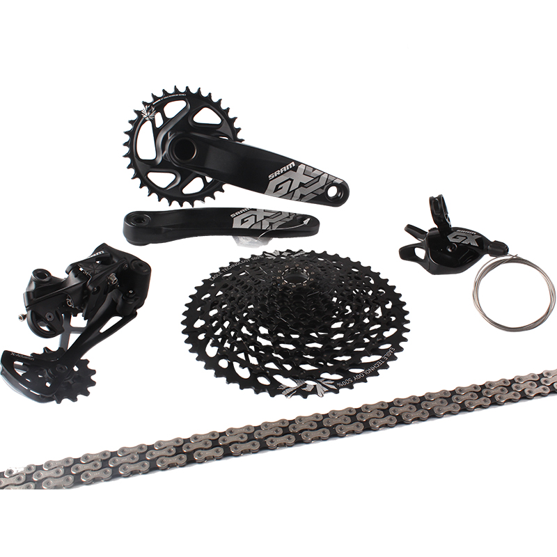 2017 NEW SRAM GX EAGLE 1x12s 10-50T speed Groupset Kit Trigger Shifter Rear Derailleur Cassette Chain Crankset new 10 1