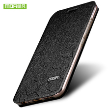 phone case for huawei honor 7x original MOFI Luxury stand Flip Leather back Cover case for huawei honor 7x